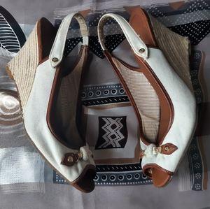 BOGO Tommy Hilfiger wedge sandals platforms